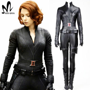 avengers black widow halloween costume thick chick treasures