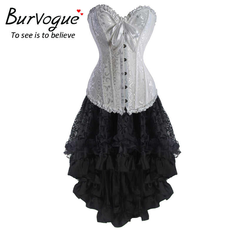 d6cdc980b89 Steampunk Vintage Gothic Corset Dress  (S-3XL) – Thick Chick Treasures
