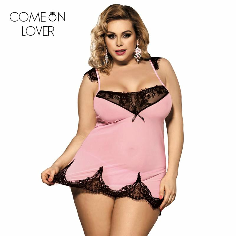 9e42b2bee18c Pink Lace Patchwork Babydoll Dress  (M-5XL) – Thick Chick Treasures