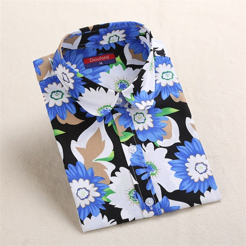 51545f019d2797 Vintage Floral Print Shirt Long Sleeve Plus Size – Thick Chick Treasures