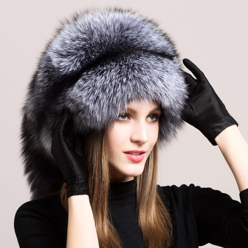 72d9983cf53 Russian Fox Fur Hat Furry Cap w Fox Fur Tassel – Thick Chick Treasures