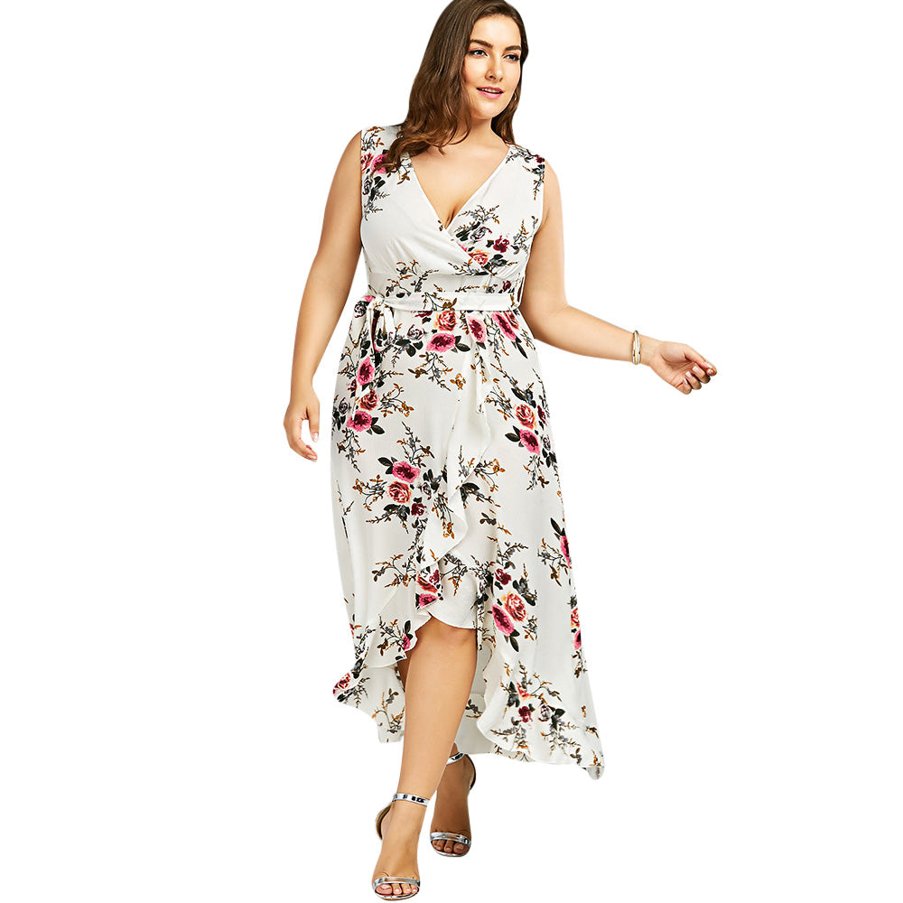 0fd4a3785ed White Floral Maxi Dress Macys - Data Dynamic AG