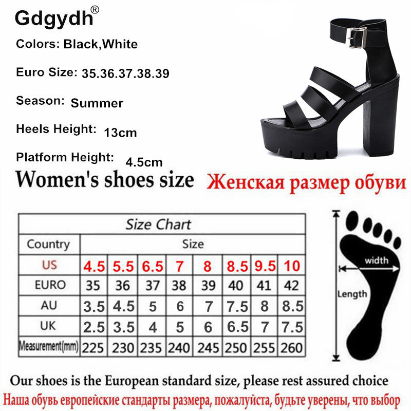5f30138e40bc Open Toe Button Belt Thick Heel Wedges Platform Shoes – Thick Chick ...