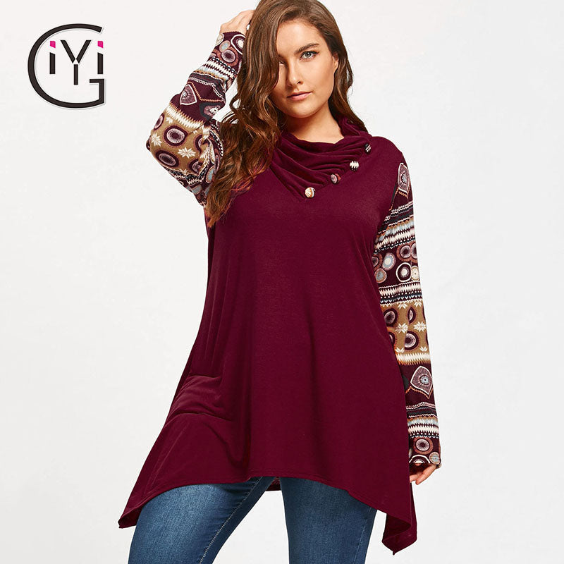 3994a05fd7e Long Sleeve Loose Turtle Neck Blouse – Thick Chick Treasures