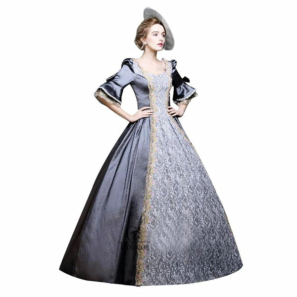 Medieval Renaissance Victorian Dress Costume – Thick Chick Treasures