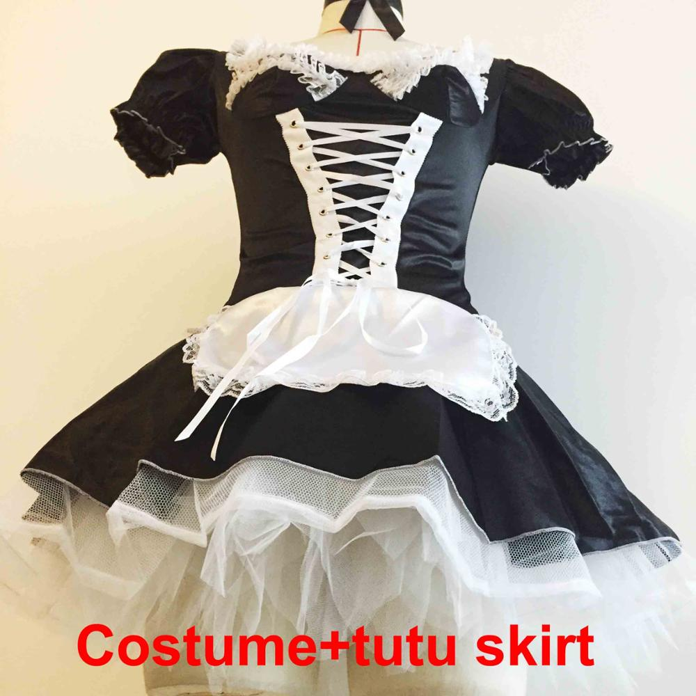 d1b2c30f8fd64 French Maid Costume Exotic Servant Cosplay Dress - Thick Chick Treasures