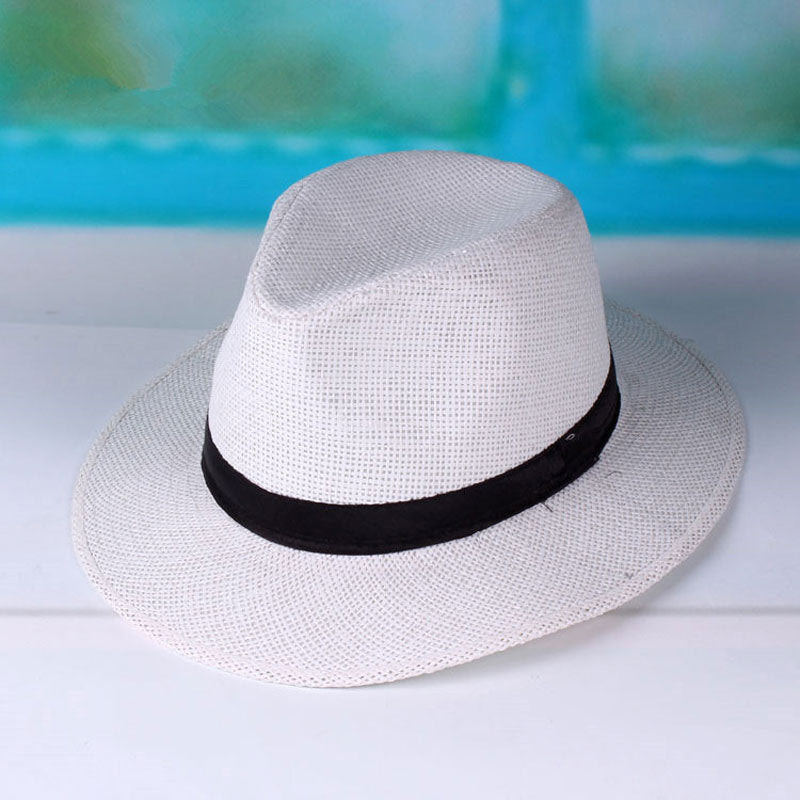 a27b0b37d29bf Panama Beach Sun Hat with Ribbon Band – Thick Chick Treasures
