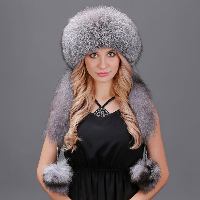 4d25158dd79 Fox Fur Russian Winter Caps - Thick Chick Treasures