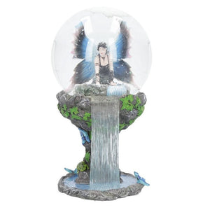 Immortal Flight Snowglobe by Anne Stokes