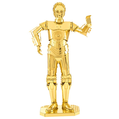 Star Wars - C-3PO Gold 3D Laser Cut Model