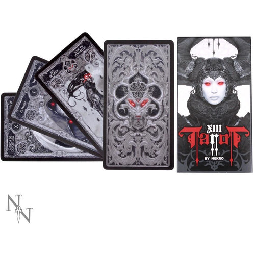 XIII Tarot Deck by Nekro