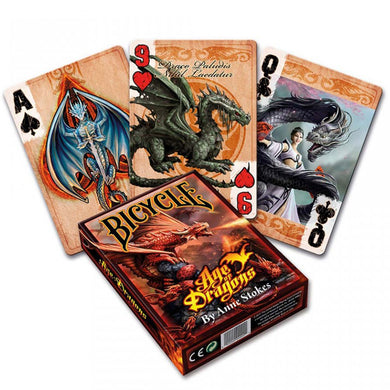 Age of Dragons Playing Cards by Anne Stokes