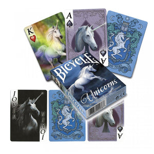 Unicorn Playing Cards by Anne Stokes
