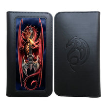 Power Chord Phone Wallet by Anne Stokes