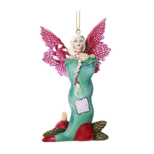 Stocking Stuffer Fairy Hanging Ornament by Amy Brown