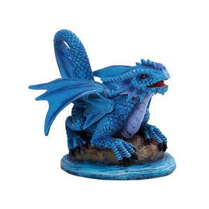 Water Dragon Wyrmling Figurine by Anne Stokes