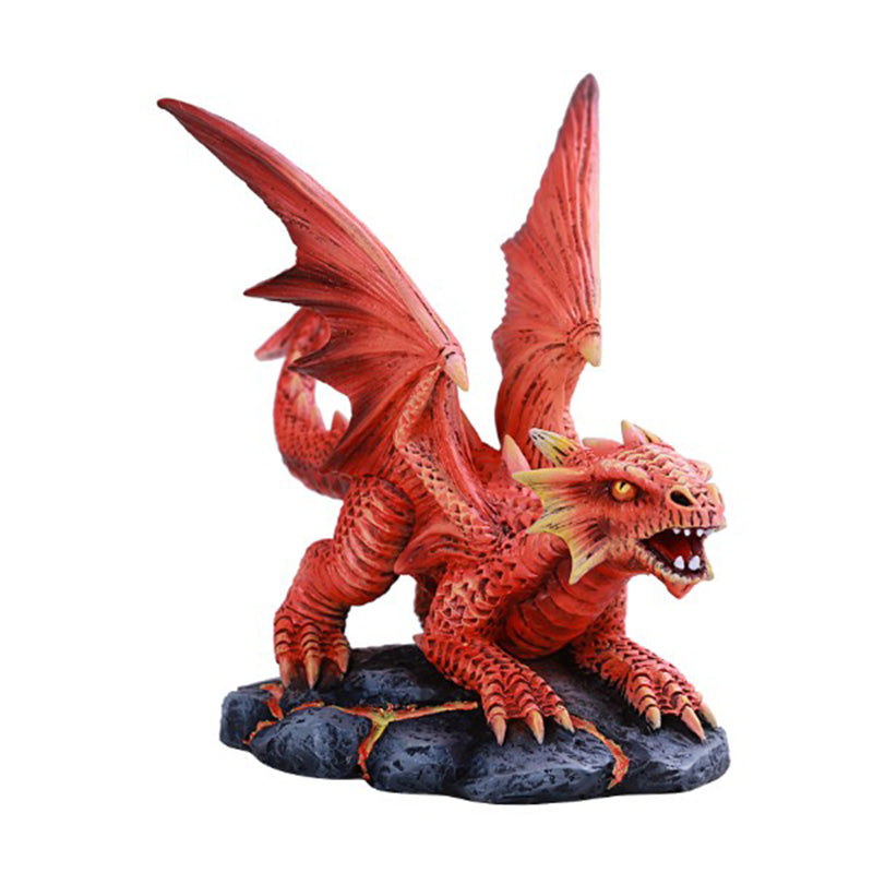 Fire Dragon Wyrmling Figurine by Anne Stokes