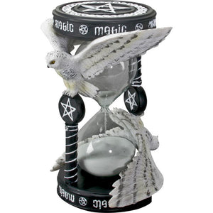 Magical Owl Sand Timer by Anne Stokes