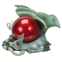 Holiday Treasure Dragon Figurine by Amy Brown