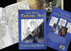 Anne Stokes Colouring Book