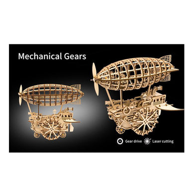 Mechanical Gears Air Vehicle by ROKR