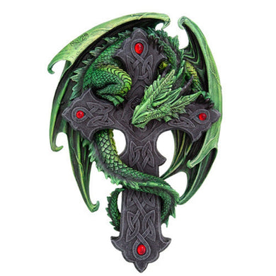 Woodland Guardian Wall Plaque by Anne Stokes