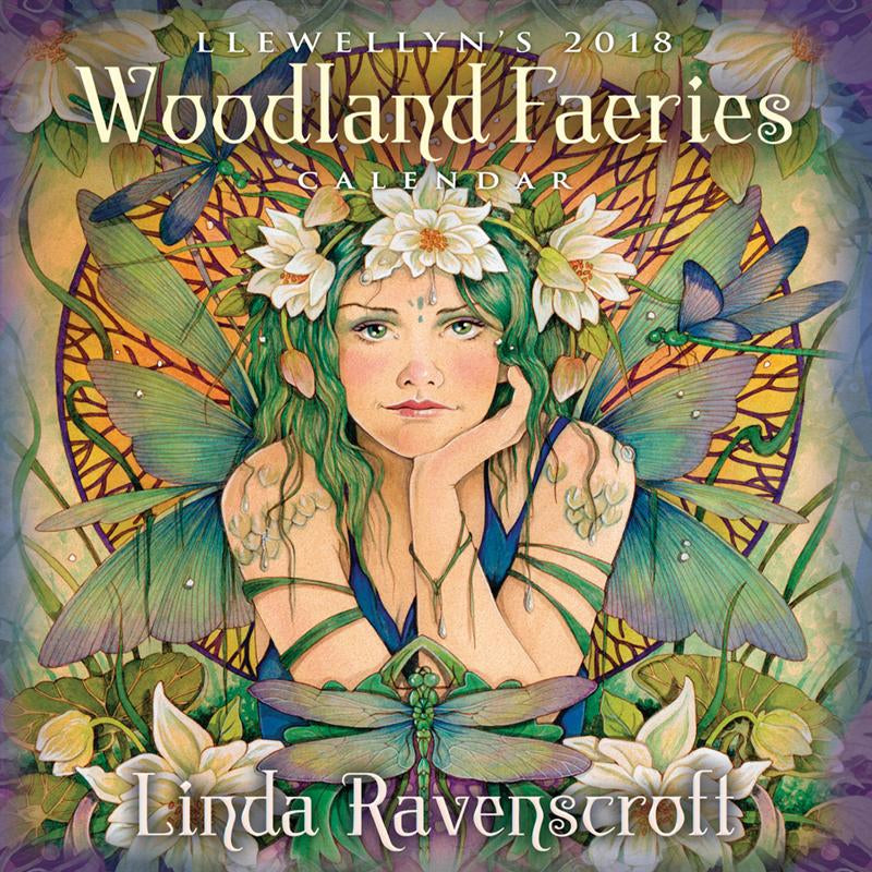 Woodland Faeries 2018 Calendar