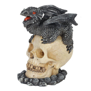 Black Dragon Incense Cone Burner by Anne Stokes