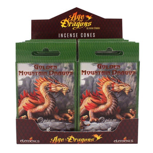 Mountain Dragon Incense Cones by Anne Stokes