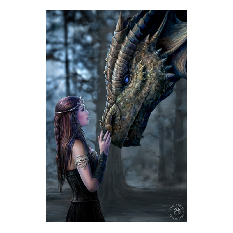 Once Upon A Time - 3D Lenticular Print by Anne Stokes