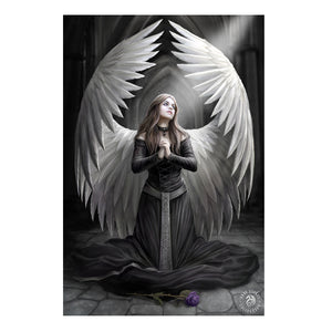 Prayer For The Fallen - 3D Lenticular Print by Anne Stokes