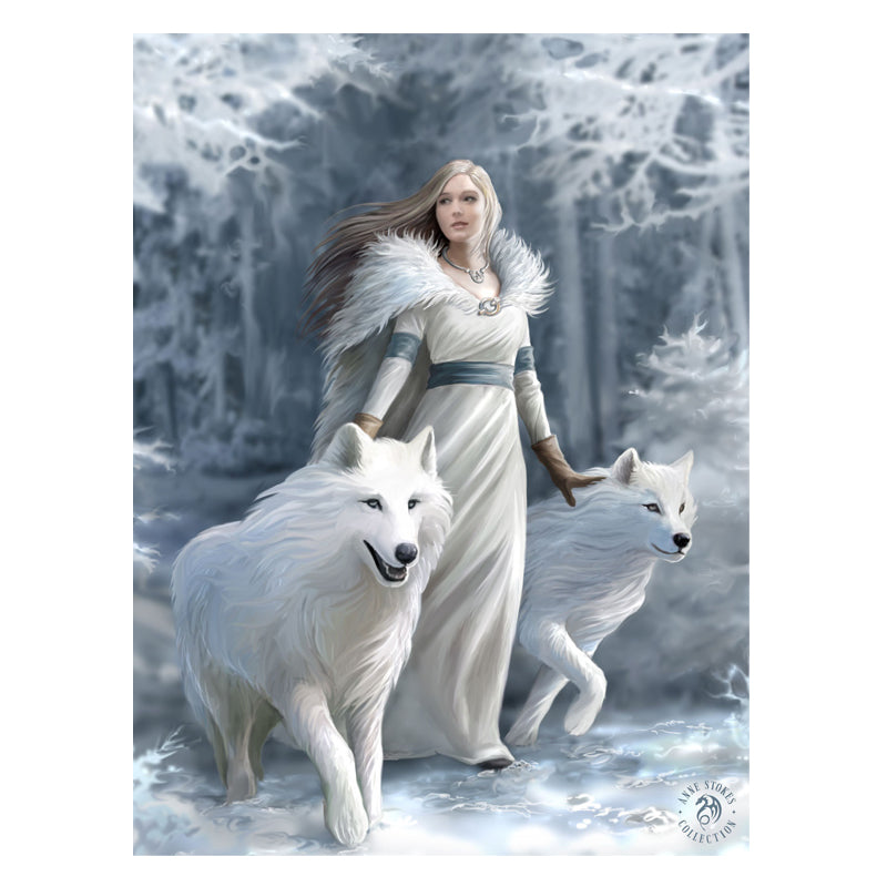 Winter Guardian - 3D Lenticular Print by Anne Stokes