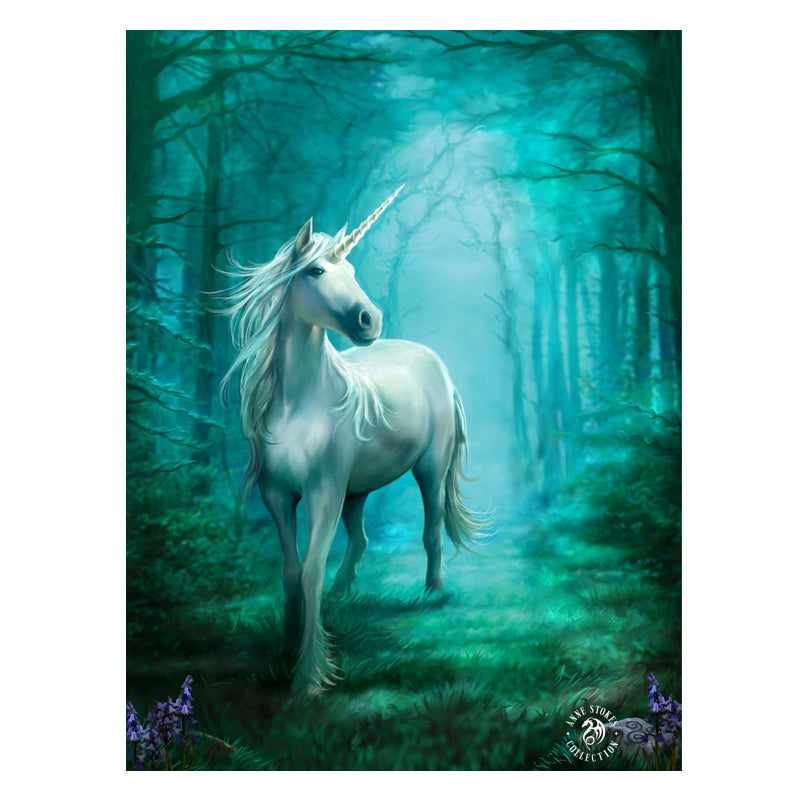 Forest Unicorn - 3D Lenticular Print by Anne Stokes