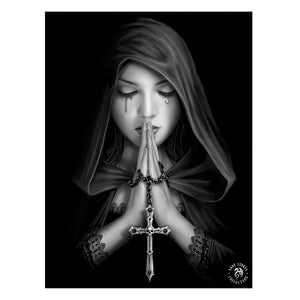 Gothic Prayer - 3D Lenticular Print by Anne Stokes