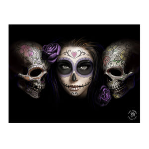 Day Of The Dead - 3D Lenticular Print by Anne Stokes