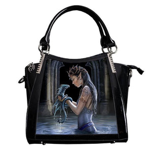 Water Dragon 3D Lenticular Handbag by Anne Stokes