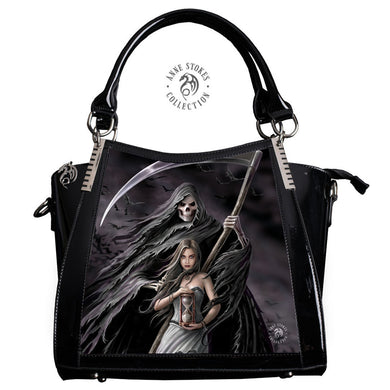 Summon The Reaper 3D Lenticular Handbag by Anne Stokes
