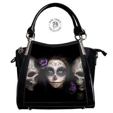Day of The Dead 3D Lenticular Handbag by Anne Stokes