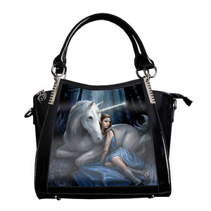 Blue Moon 3D Lenticular Handbag by Anne Stokes