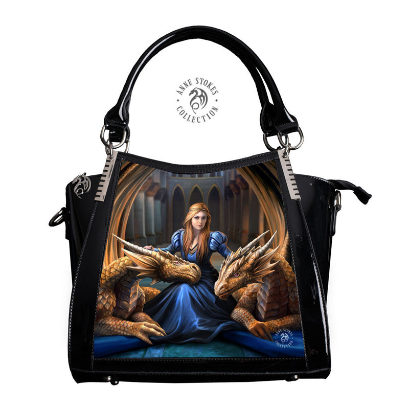 Fierce Loyalty 3D Lenticular Handbag by Anne Stokes