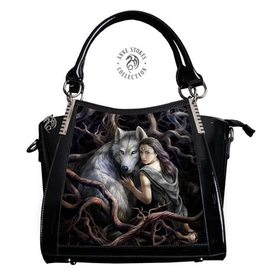 Soul Bond 3D Lenticular Handbag by Anne Stokes