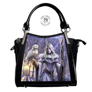 Winter Owl 3D Lenticular Handbag by Anne Stokes