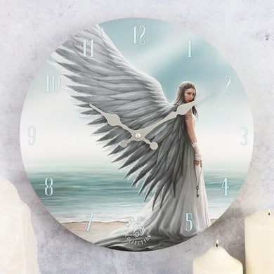 Spirit Guide Clock by Anne Stokes