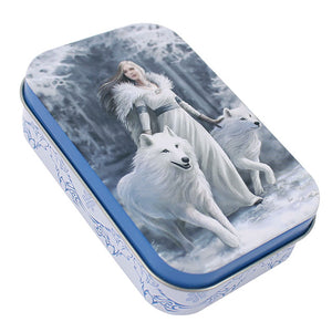 Winter Guardian Tin Box by Anne Stokes