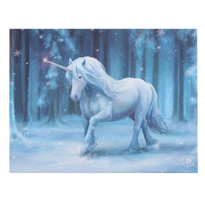 Winter Wonderland Small Canvas by Anne Stokes