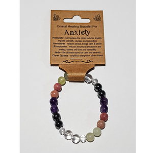 Crystal Healing Bracelet for ANXIETY