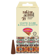 Native Soul White Sage & Palo Santo Incense Backflow Cones