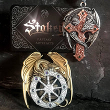 Year Of The Magical Dragon Broach Artefact by Anne Stokes