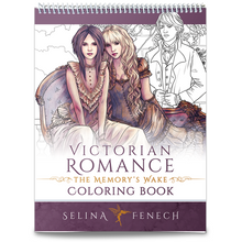 Victorian Romance Memory's Wake Colouring Book by Selina Fenech