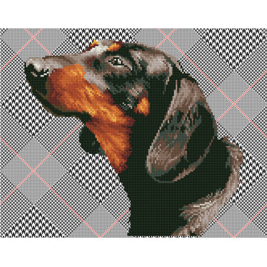 DIAMOND DOTZ - Noble Dachsie